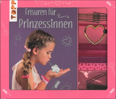 Kreativ-Set Frisuren für Prinzessinnen
