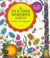 Jane Monk : Das Zen & Tangle Ausmalbuch Garten - Cover