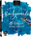Sabina Wieners : Handlettering  Backgrounds – 15 kreative Hintergründe ... - Cover