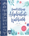 Martina Johanna Janssen : Handlettering  Alphabete Watercolor - Cover