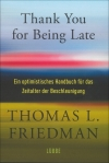Thomas L. Friedmann : Thank You for Being Late - Cover