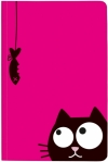 : VE 3 Ed, the Cat Notizbuch Fish - Cover