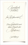Christoph Ribbat : Im Restaurant - Cover