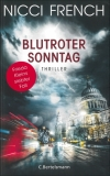 Nicci French : Blutroter Sonntag - Cover
