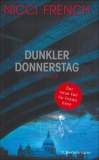 Nicci French : Dunkler Donnerstag - Cover