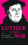 Alf Christophersen : Luther und wir - Cover